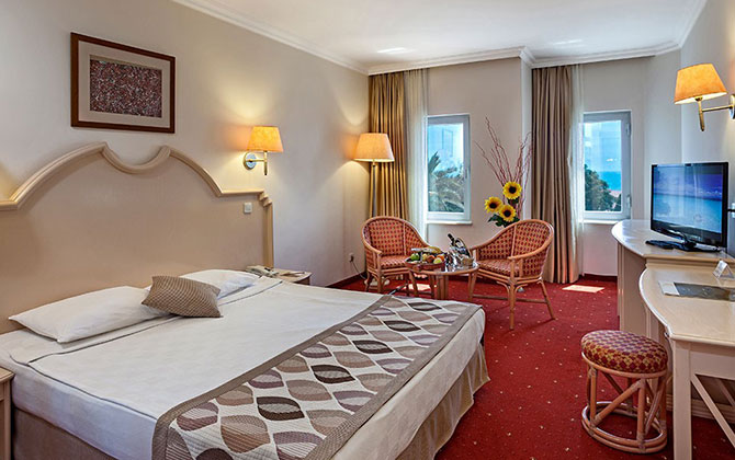 Belconti Resort Hotel – Standart Oda