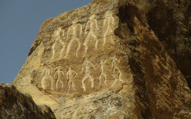 Gobustan Milli Parkı Azerbaycan