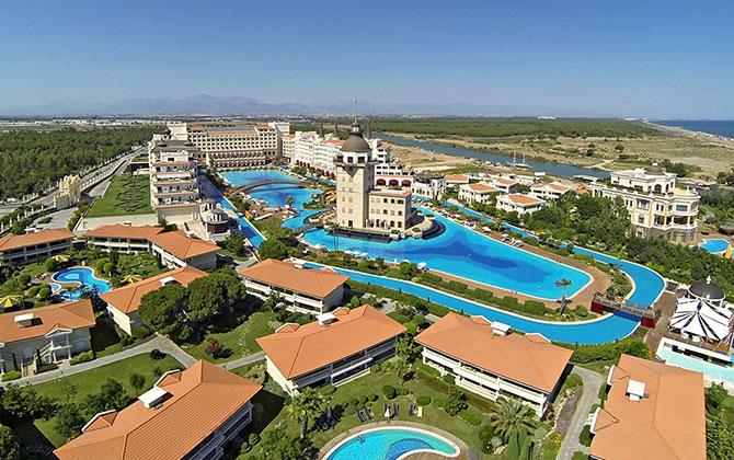 Mardan Palace Hotel – Hava Çekimi