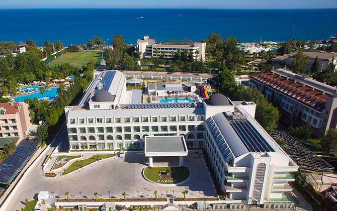 Karmir Resort Hotel – Hava Fotoğrafları