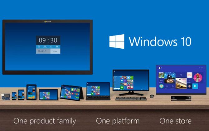 Microsoft'un Son Sistemi Windows 10