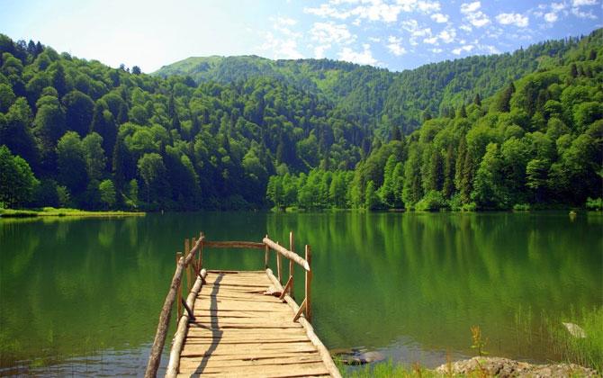 Türkiye'nin en iyi 4 kamp alanı!