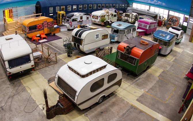 Kapalı alanda kamp tatili deneyimi !