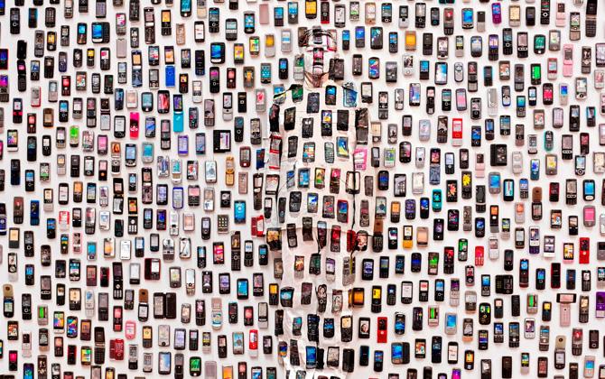 Görünmez adam Çinli sanatçı Liu Bolin