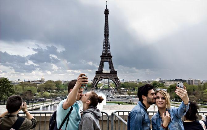 Dünya'nın en iyi selfie(özçekim) için 10 tatil yeri!