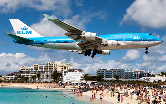 Dünyanın en dakik havayolu firması KLM!
