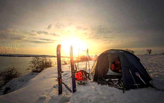 İnanılmaz kış manzaralarıyla Kırgızistan!