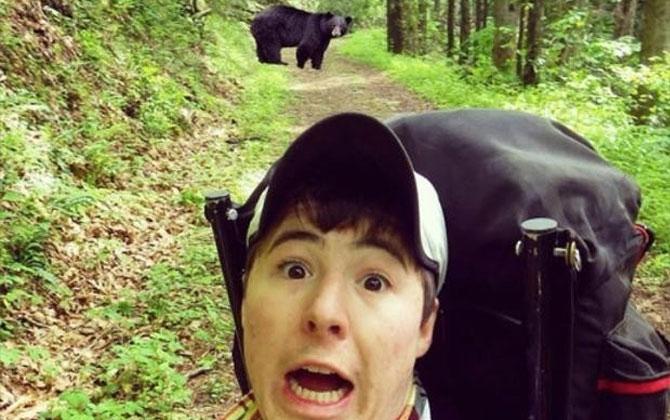 Selfie çekerken rezil olanlar