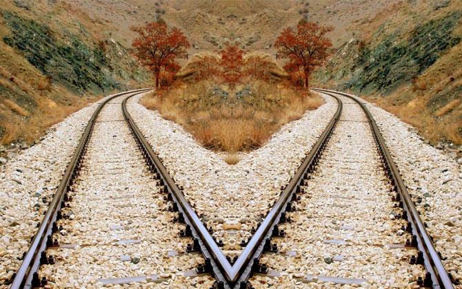 Simetrik olarak çekilmiş harika fotoğraflar