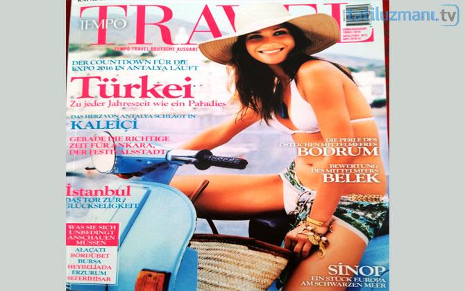 Tempo Travel dergisinin kapağında Sinop!