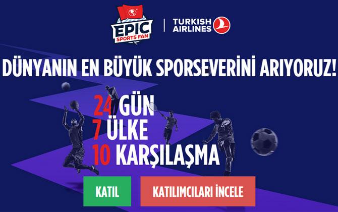 Türk Hava Yolları en büyük sporseveri ödüllendiriyor!