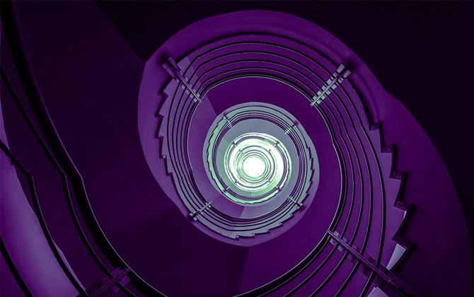 Gözalıcı güzellikteki spiral merdiven tasarımları