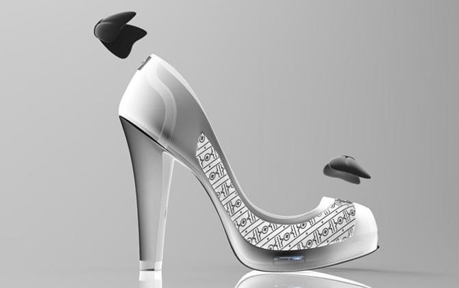 Renk değiştirebilen ayakkabı tasarımı!