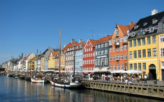 Kopenhag'da güvenli bir tatil!