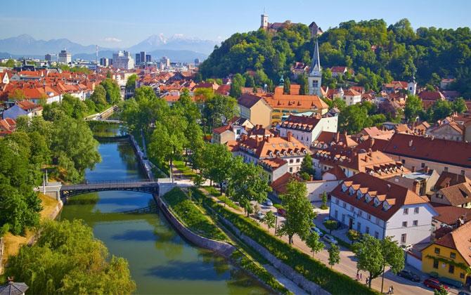 Ljubljana'da tarihi bir tatil!