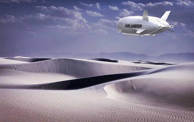 """""""The Airlander 10"""" hava taşıtından haberiniz var mı?"""