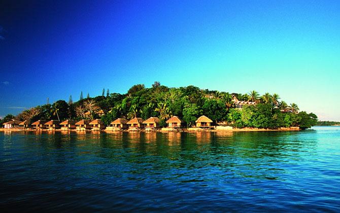 Vanuatu adasında keyifli bir tatil!