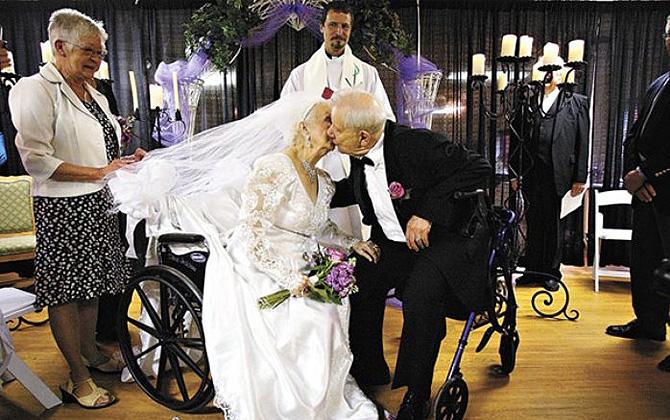 Dünya'nın en tatlı yaşlı çiftleri!
