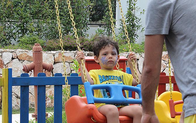 Karmir Resort & Spa'da çocuklarınız hiç sıkılmıyor!