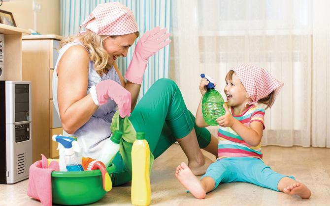 ev işleri ve çocuklar ile ilgili görsel sonucu