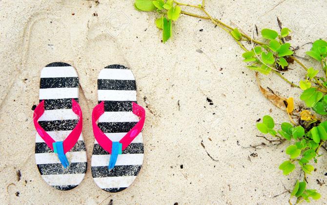 Eski plaj terliğinizi atmayın!