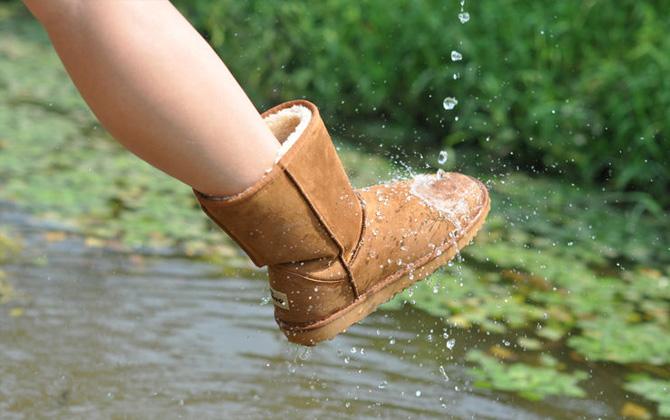 Ayakkabınızı su geçirmez hale getirmek çok kolay!