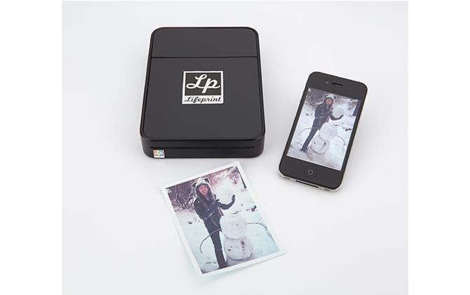 Taşınabilir fotoğraf yazıcısı!