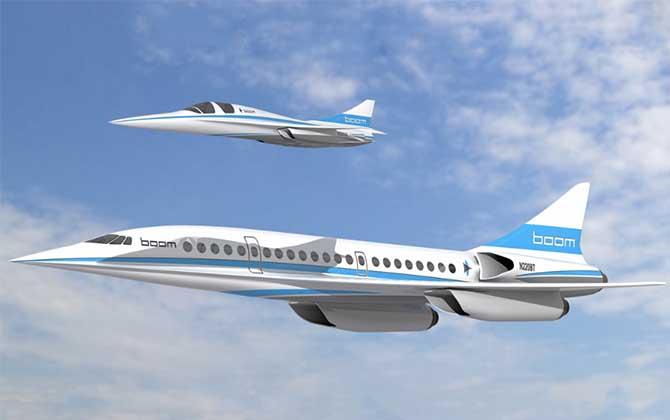Dünyanın En Hızlı Sivil Yolcu Uçağı!
