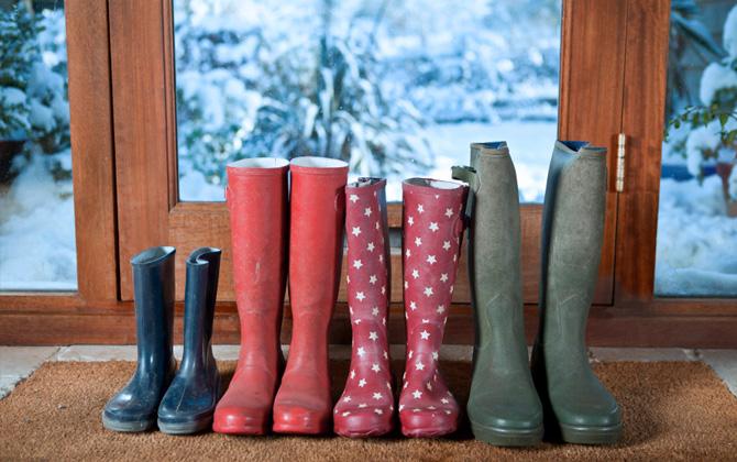 Ayakkabılarınızı kış mevsimine hazırlayın!