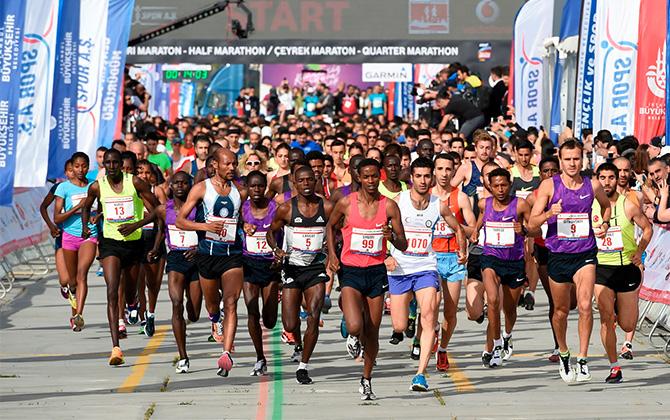 """""""Yeşil Yarı Maraton"""" ilk kez 30 Nisan'da koşulacak!"""