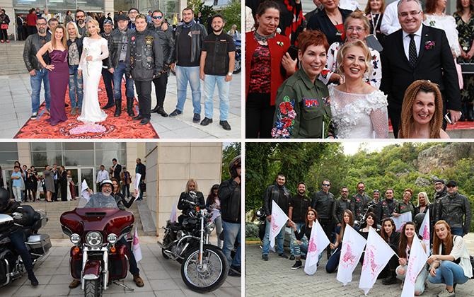 """H.O.G, Antalya'da """"Kadınlar Çiçek Açıyor"""" sloganıyla düzenlenen 1. Uluslararası Turizm Festivali'ne renk kattı!"""