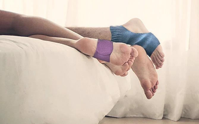 Alarm çorabı Slock sayesinde artık uyuya kalmayacaksınız!