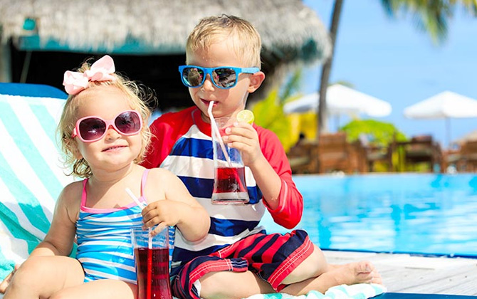 Maldivler'de çocuklarınızla tatil yapabileceğiniz en iyi tesisler!