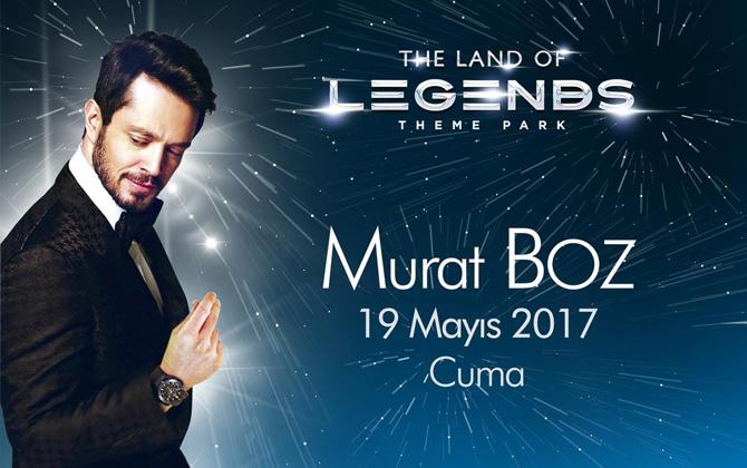 Bugün Murat Boz ile The Land Of Legends'ta eğlence dolu bir tatil!