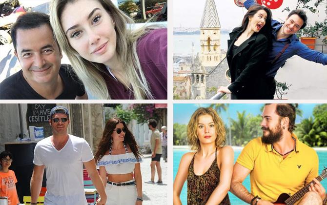 Tatil tutkunu Türk ünlüler!