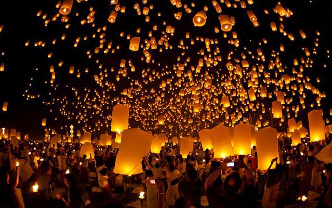 Tayland tatilinde katılmanız gereken festivaller!