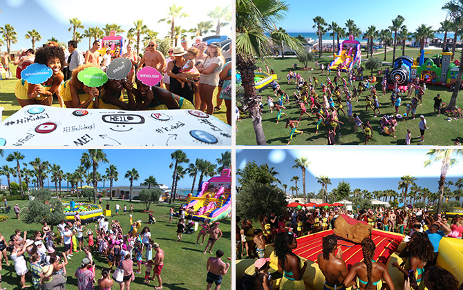 """IC Hotels Santai'de """"Social Day"""" etkinliği ile muhteşem bir tatil!"""