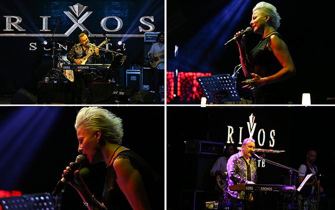 Rixos Sungat'te Ümit Besen ve Pamela ile bayram coşkusu yaşandı!