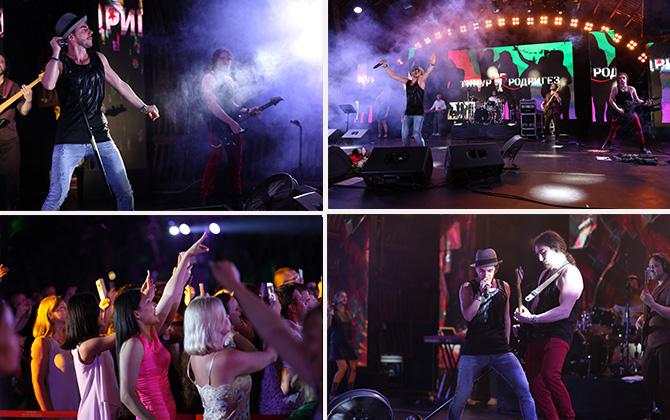 Alva Donna Exclusive Hotel sahnesi Rus şarkıcı Timur Rodriguez'i ağırladı!