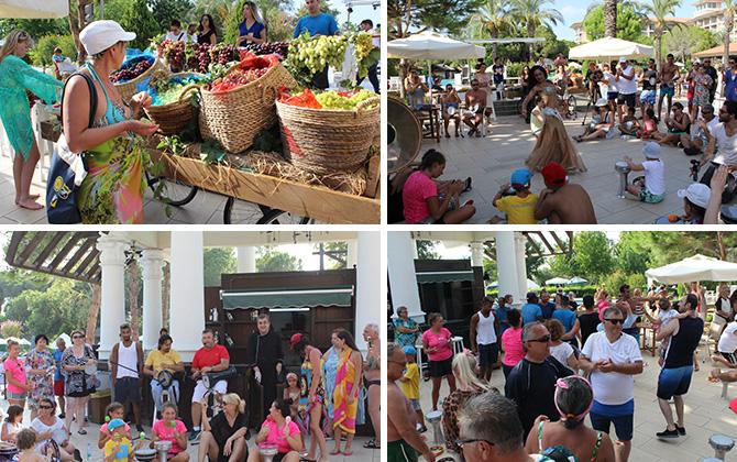 IC Hotels Green Palace, Üzüm Festivali ile tatile renk kattı!