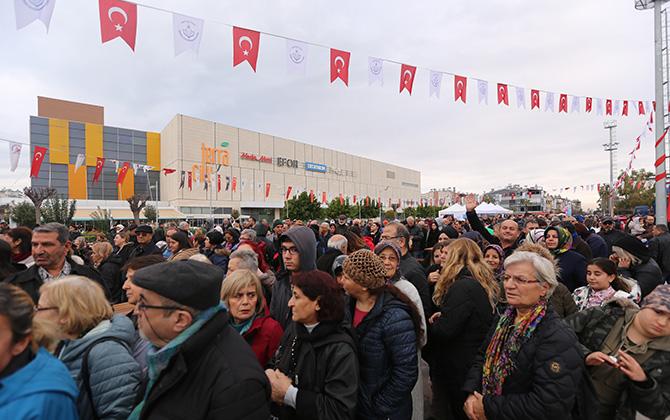 Antalya'da Hamsi Festivali yoğun ilgi gördü!