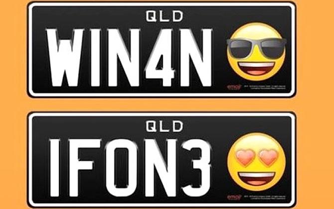 Avustralya'da emojili plakalar dönemi başlıyor!