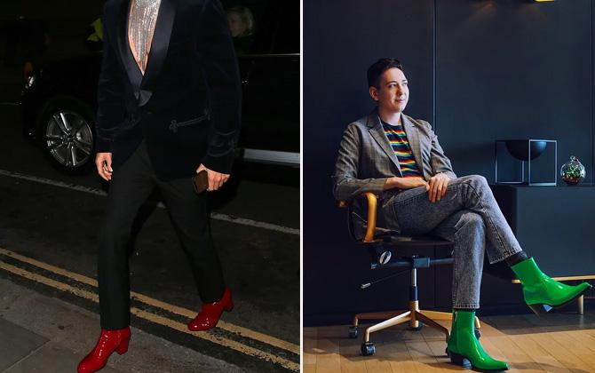 Erkekler için topuklu ayakkabı trendi geliyor!